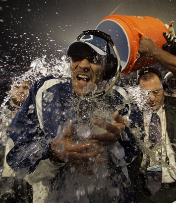 Dungy Gatorade Bath