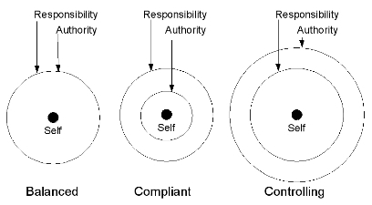 Authority-Responsibility Balance Diagrams