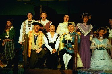 Pirates of Penzance Act I final scene