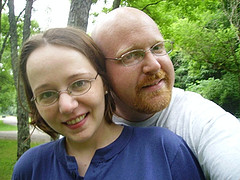 Stephanie and Me at Hueston Woods